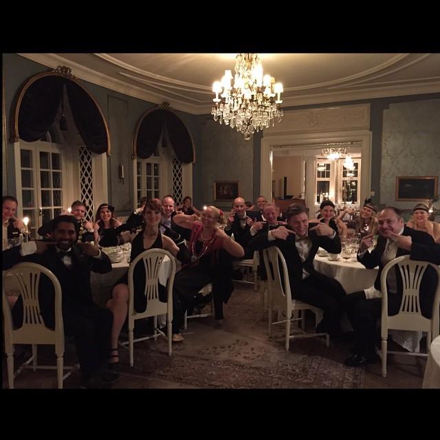 Annual Dinner at JCI Halmstad with loads of iSmiles. jci…