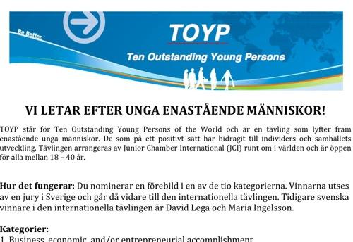 Flyer TOYP 2012