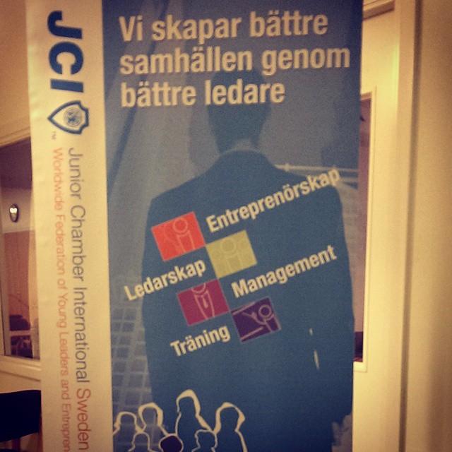 Ikväll har vi i Stockholm gått igenom vad JCI gör…