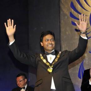 JCI President Shine Bhaskaran besöker Sverige