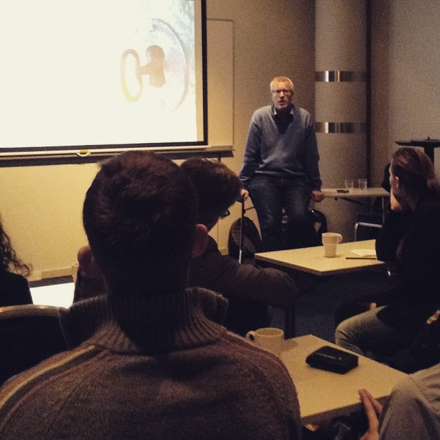 Last night Per Lanevik talked about entrepreneurship with the members…