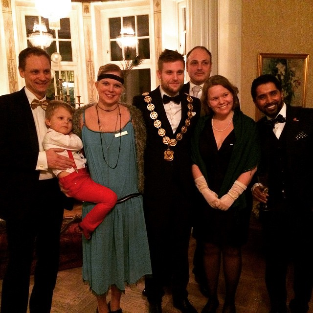 New local president of JCI Halmstad, @petterhonk, has a heavy…