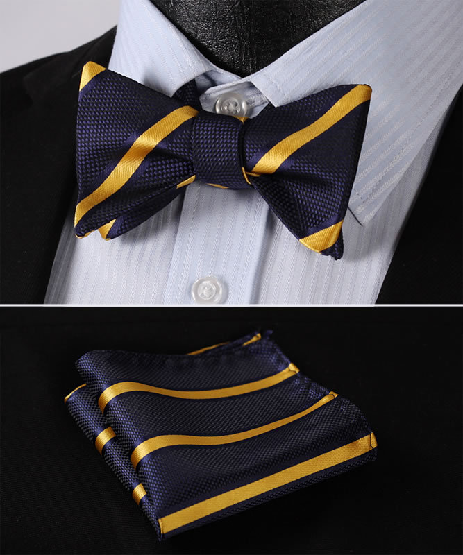 bs316v-navy-blue-yellow-stripe-100-silk-jacquard-woven-men-self-bow-tie-bowtie-pocket-square