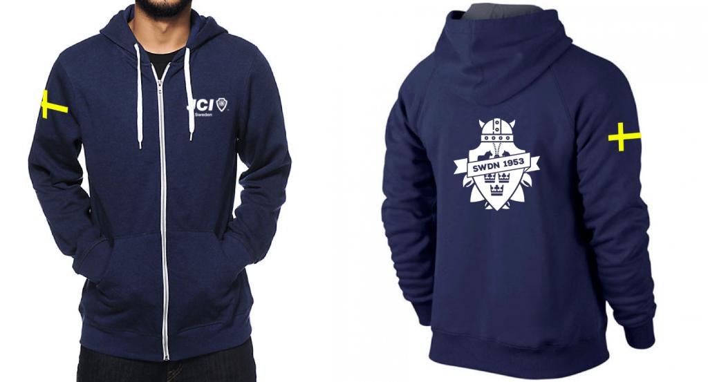JCI Sweden hoodie
